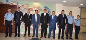 Zabıta Teşkilatından Başkan Kılca'ya ziyaret