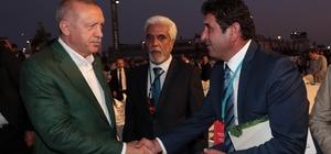 Başkan Çiğdem, Cumhurbaşkanı Erdoğan'a projelerle ilgili dosya takdim etti