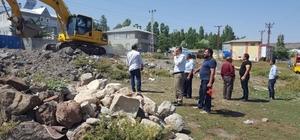 Digor Belediyesi alt yapı çalışmaları yapıyor