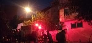 İzmir'de cinayet zanlılarının evinin kundaklandığı iddiası