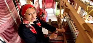 """Keşan dokumacısı Ayşe Saka """"yılın kalfası"""" seçildi"""