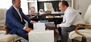 """Kavuncu'dan Başkan Sülük'e ziyaret AK Parti Çorum milletvekili Erol Kavuncu; """"El ele vererek İskilip'i geleceğe birlikte taşıyacağız"""""""
