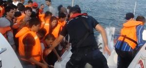 İzmir'de 147 kaçak göçmen yakalandı