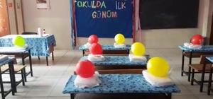 Öğretmenler okulu öğrencilere kendi elleriyle hazırladı