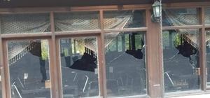 Kozan'da Dağılcak Sosyal Tesislerine saldırı