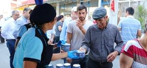 Aydın Büyükşehir Belediyesi il genelinde aşure dağıtıyor