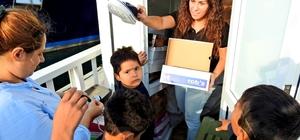 Çeşme'de 266 düzensiz göçmen, iki organizatör yakalandı