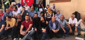 Annelerin Diyarbakır'daki oturma eylemine Hakkari'den destek