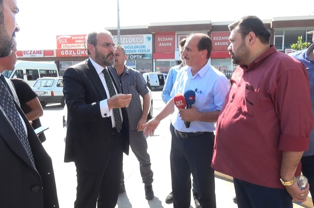 Mahir Ünal'ın konvoyunda trafik kazası: 2 vekil hafif yaralandı AK Parti Kahramanmaraş milletvekilleri trafik kazası geçirdi
