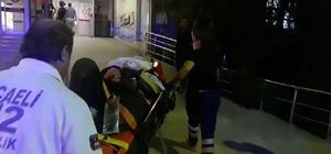 Karamürsel'de balkondan düşen şahıs yaralandı