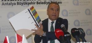 """Böcek, Cumhurbaşkanından 200 milyonluk borçlanma yetkisinin onayını aldı Antalya Büyükşehir Belediye Başkanı Muhittin Böcek: """"Cumhurbaşkanımıza bu yıl 16 milyon turist hedefimiz  olduğunu ama bizim 2 milyon 426 bin nüfusa göre para aldığımızı söyledim."""" """"Geçmiş dönemle ilgili bir hesabımızın olmadığına ama bizim borçlanmayla ilgili sıkıntılarımızın bulunduğunu aktardım"""" """" Cumhurbaşkanımız, meclisten salt çoğunlukla geçirmiş olduğumuz 200 milyon borçlanmamıza onay verilmesi talimatını verdi."""""""