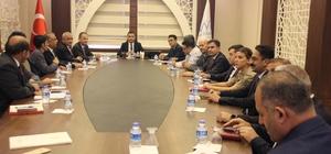 Hakkari'de ''Bağımlılıkla mücadele il koordinasyon kurulu toplantısı''