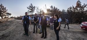 """İlk işi yangın alanında inceleme oldu İzmir Orman Bölge Müdürü Zafer Derince: """"Karabağlar ormanları küllerinden yeniden doğacak"""""""