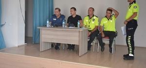 Güroymak'taki şoförlere eğitim semineri