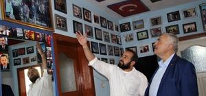 Erdoğan sevgisi büyüdükçe büyüdü evine sığmadı Elazığ'ın Palu ilçesinde bir köyde yaşayan Mustafa Ergün'ün, hayranlık duyduğu Cumhurbaşkanı Recep Tayyip Erdoğan'ın fotoğrafları ile evini adete müzeye çevirirken, onun adının baş harflerini dağa yazdı, adına da bir park yaptırdı Milletvekili Zülfü Demirbağ ise o eve giderek, Ergün'e, Cumhurbaşkanı Erdoğan'la görüştürme sözü verdi