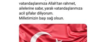 Van Valisi Bilmez'den Diyarbakır'daki sivil şehitler için taziye mesajı