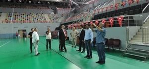 Trabzon'da gelecek yıl yapılacak olan Dünya İşitme Engelliler Güreş Şampiyonası öncesinde incelemelerde bulunuldu