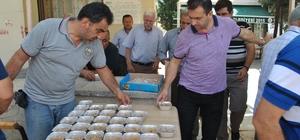 Sarıcakaya Belediyesi 3 bin kişilik aşure dağıttı
