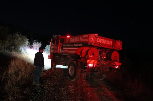 Bolu'da, örtü yangınında 5 hektarlık alan zarar gördü