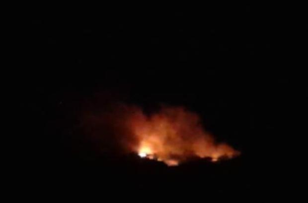 Ortaca'daki yangını söndürme çalışmaları devam ediyor Ortaca'daki yangın yeniden aktif hale geldi