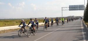 Beyşehir'de bisiklet festivali başladı Bisikletseverler, Beyşehir Gölü etrafında 167 kilometre boyunca pedal çevirecek Etkinliğe İstanbul'dan gelen görme engelli bir genç de tandem bisikletiyle katılıyor