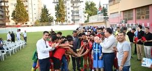 Sporun Gülen Yüzü Futbol Turnuvası kupa ve sertifika töreni ile sona erdi Şampiyon Çukurovaspor