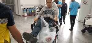 Poligonda atış yapan uzman çavuş kazayla kendini vurdu