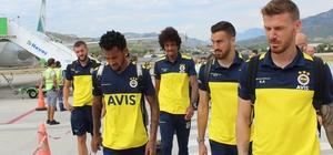 Fenerbahçe Alanya'ya geldi