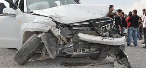 Hakkari'de 3 ayrı trafik kazası: 4 yaralı