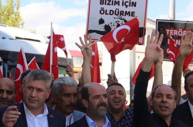 """Terör örgütü PKK'ya tepkiler çığ gibi 15 Temmuz Demokrasi Şehitleri, Gazileri ve Terör Mağdurları Derneği Genel Başkanı Abbas Gündüz: """"PKK terör örgütü bölge halkına bir kez daha telafisi mümkün olmayan bir hainlik yapmıştır"""""""