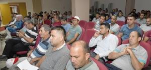 Aksu'da personele iş güvenliği eğitimi
