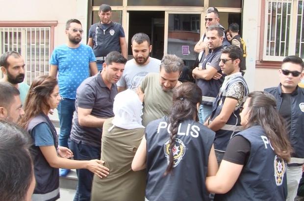 """HDP önündeki eylemde gerginlik Eylem yapan Muhittin Avunan: """"Benim yeğenimle beraber herkesi vursunlar"""""""