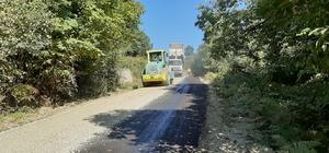 Türkeli'nin köylerinde asfalt çalışmaları sürüyor