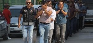 FETÖ'nün askeri mahrem yapılanmasına operasyon Adana merkezli 13 ilde askeri mahrem yapılanmaya yönelik operasyonda gözaltına alınan 1 emekli albay, 1 aktif yüzbaşı, 1 aktif teğmenin de aralarında olduğu 23 zanlı adliyeye sevk edildi Mahrem imamın 24 kez aradığı zanlı hatırlamadığını söyledi