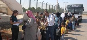 Bayramı ülkelerinde geçiren Suriyelilerin dönüşleri sürüyor Ramazan ve Kurban Bayramı için ülkelerine giden Suriyelilerden 39 bini Türkiye'ye döndü