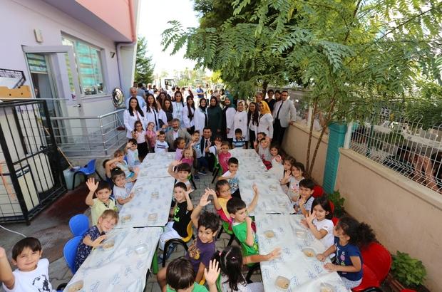 Nasreddin Hoca Kreşi'nde aşure etkinliği