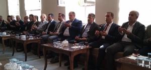 Vali Bilmez ve milletvekillerinden Hizan'a taziye ziyareti