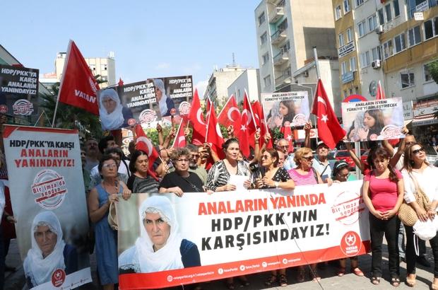 Diyarbakır'daki annelere destek verip, HDP'nin kapatılması için imza kampanyası başlattılar Vatan Partisi Mersin İl Başkanlığı üyeleri, terör örgütü PKK'nın elinden çocuklarını kurtarmak için HDP Diyarbakır İl Başkanlığı önünde oturma eylemi başlatan annelere destek verdi Sloganlar atarak terör örgütüne tepkilerini dile getiren partililer, HDP'nin kapanması için de imza kampanyası başlattı