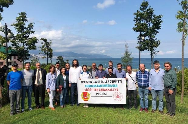 TGC'den 'Kuruluştan Kurtuluşa-Söğüt'ten Çanakkale'ye' Projesi