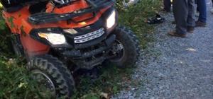 Türkeli'de ATV aracı devrildi: 1 yaralı