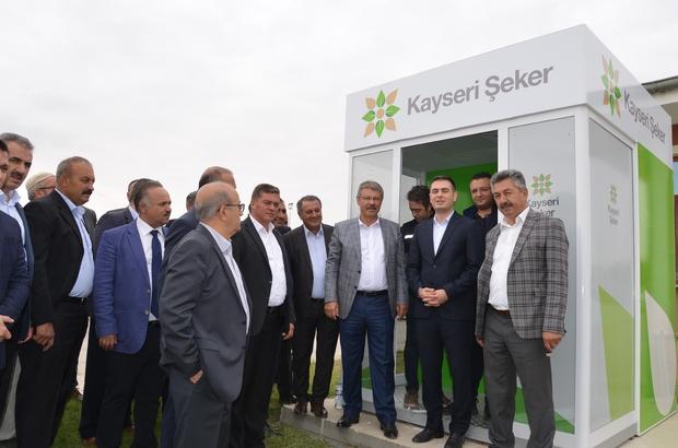 Kayseri Şeker, çiftçiler için Panşeker Kart uygulamasını başlattı