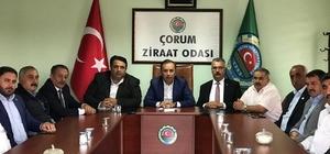 AK Parti'den Ziraat Odası başkanlarıyla istişare