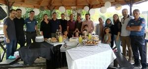 Boyabat Emniyetinden lösemili minik Ahmet'e doğum günü sürprizi