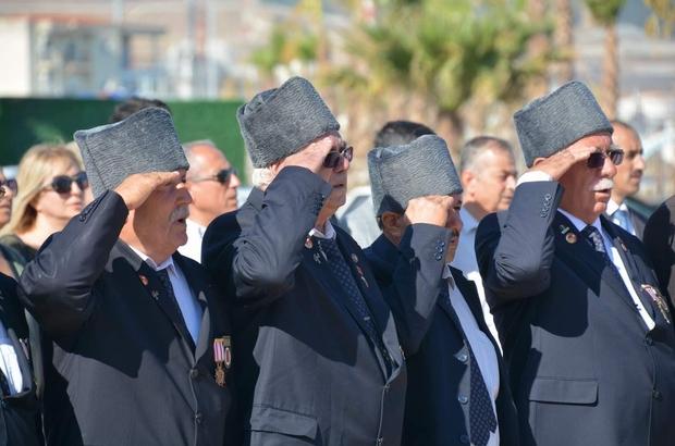 Aliağa'da Gaziler Günü kutlanacak Aliağa'da Gaziler Günü törenle kutlanacak