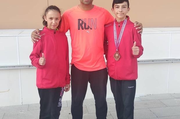 Genç sporcular beldelerini gururlandırdı