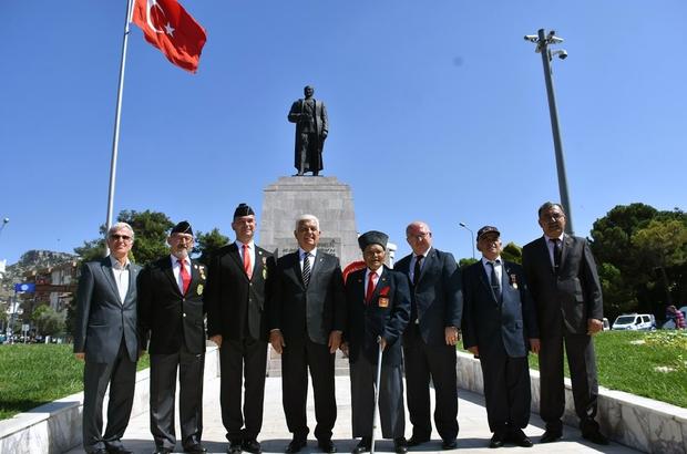 Başkan Gürün 19 Eylül Gaziler Günü'nü kutladı Muğla Büyükşehir Belediye Başkanı Dr. Osman Gürün, 19 Eylül Gaziler Günü nedeniyle bir kutlama mesajı yayımladı.