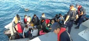 İzmir'de 196 kaçak göçmen yakalandı