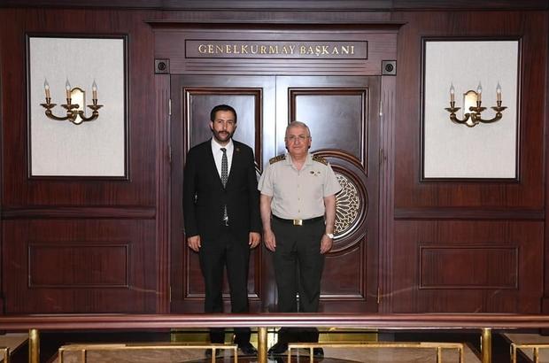 Başkan Gürer'den Genelkurmay Başkanı Gürer'e ziyaret