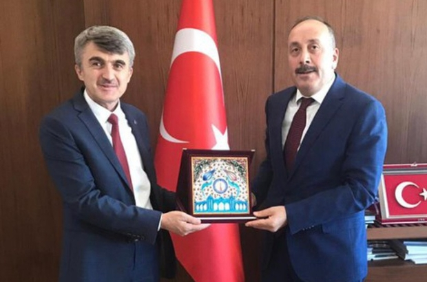 Rektör Uysal, Ankara'da üst düzey kamu kurumlarının yöneticileriyle görüştü