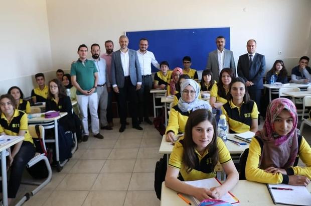 Başkan Biçer'den Simav Fen Lisesi'ne tebrik ziyareti